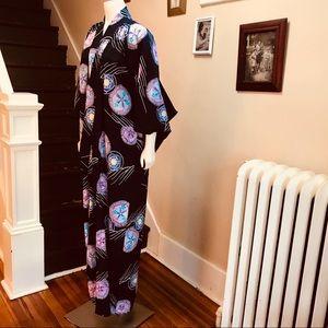 Vintage Intimates & Sleepwear - Vintage authentic cut Kimono. One size. Cotton